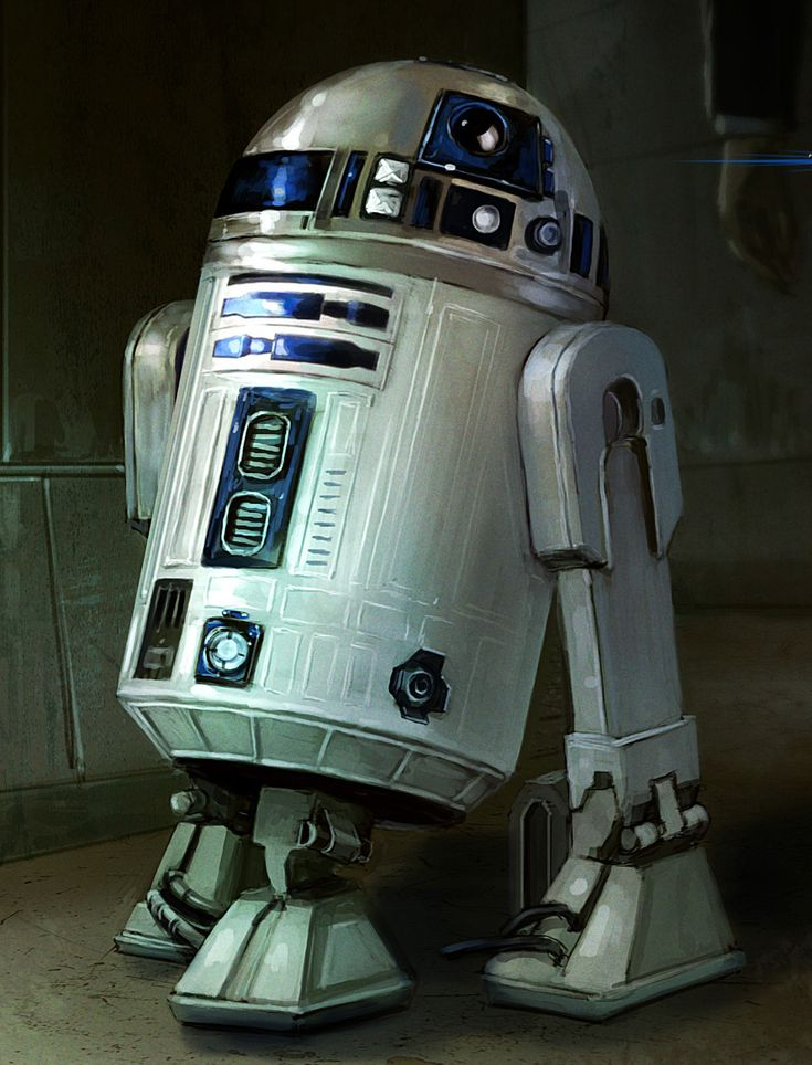 Astromech Droid Build Movie Model