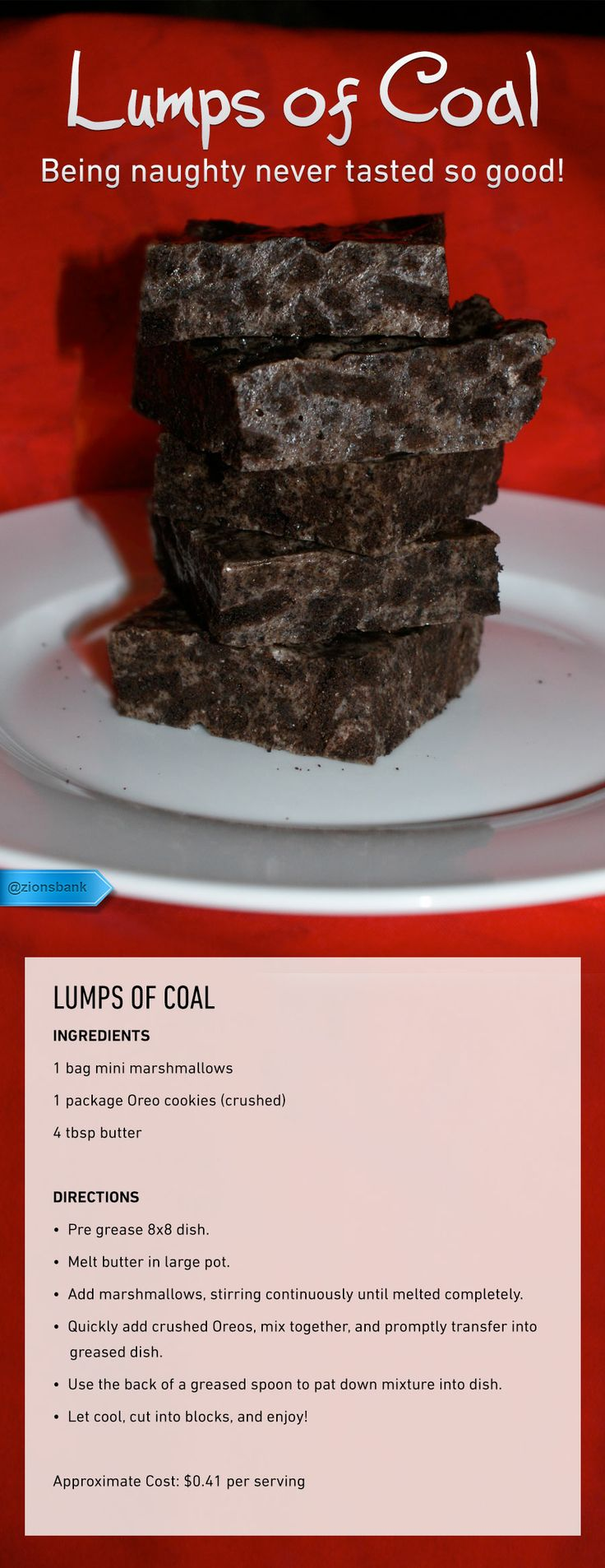 "Love this..... ""Lumps of Coal"" cookies for those naughty (and nice) people at Christmas!"