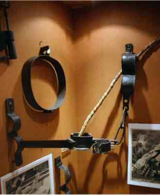 A few of Bathory's actual torture devices