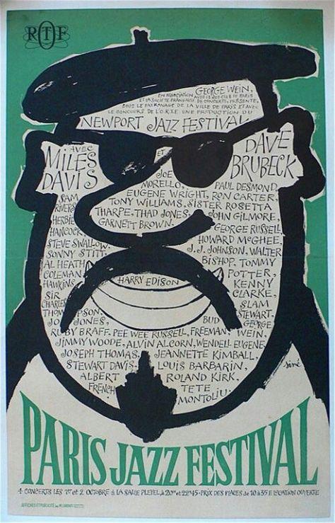 Paris Jazz Festival 1964 - Miles Davis, Dave Brubeck, Herbie Hancock, Roland Kirk, Coleman Hawkins, Sonny Stitt, Kenny Clark, Sam Rivers, J.J. Johnson, Ron Carter, Thad Jones, Tony Williams, Paul Desmond