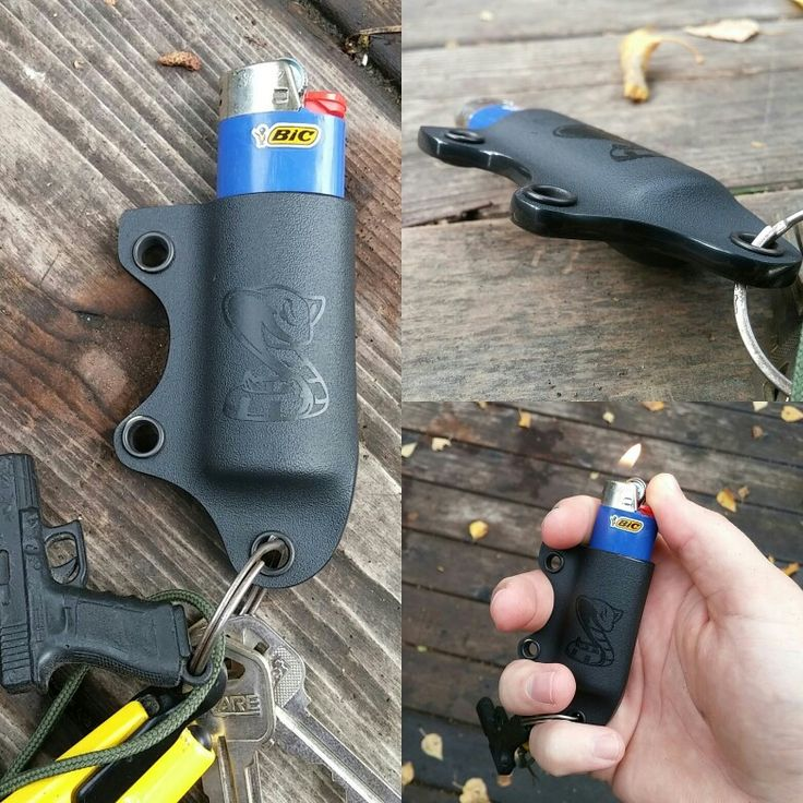 I haven't made one of these BIC Lighter Holsters in a long time! A customer…