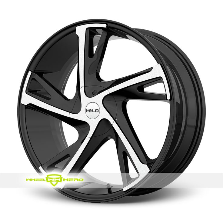 Helo HE902 Machined Black Wheels For Sale & Helo HE902 Rims And Tires