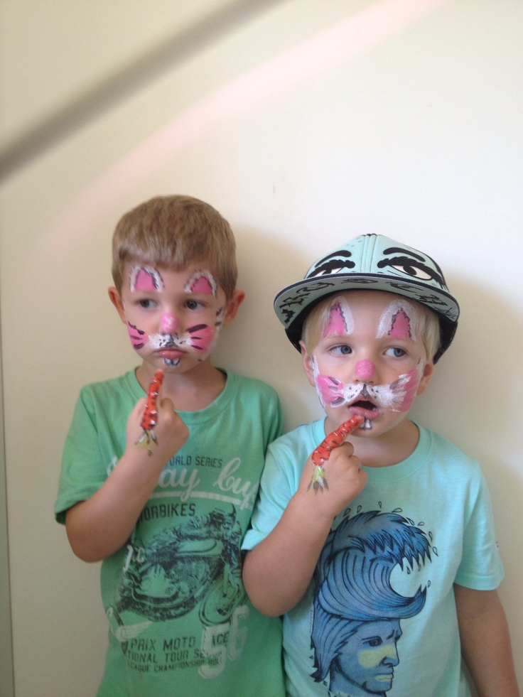 14 best Face Painting images on Pinterest | Face paintings, Bunny ...