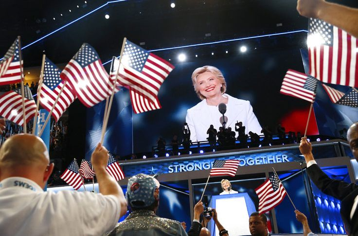 The New York Times checks assertions by Hillary Clinton at the Democratic National Convention.