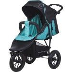 Knorr Baby Joggy S Buggy 3 Wheels Air Tyres happy colour blue - Collection 2015