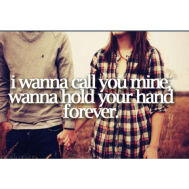 Marry once, for life... Hunter Hayes lyrics :)