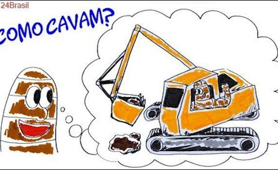 Se minhocas são tão moles, como cavam a terra?  Dúvida cruel #16