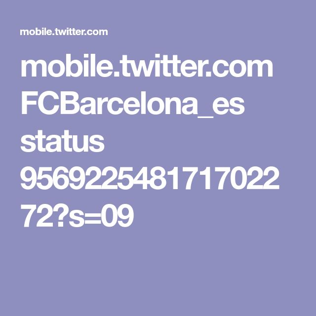 mobile.twitter.com FCBarcelona_es status 956922548171702272?s=09