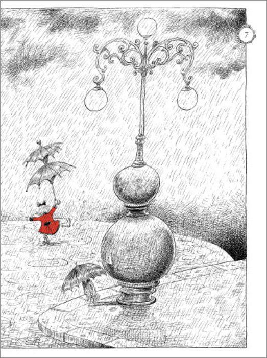 Chris Riddell: Ottoline Chapter Book Illustration