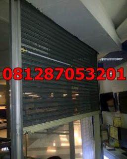 MUDA CREATIVE SOLUTION: tukang service pintu rolling door 081287053201