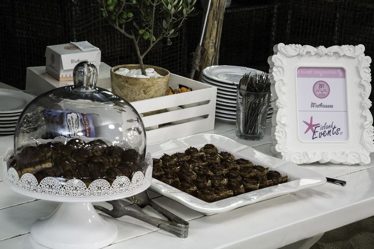 A sweet cooperation by Islandevents.gr and Mathiassos Bakery - #naxosweddings