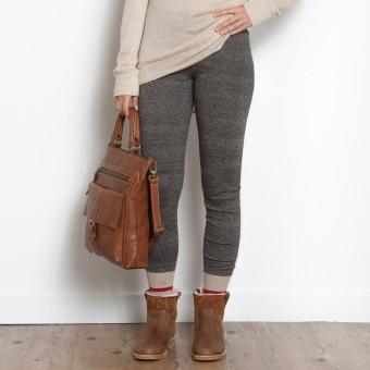 Cabin sock inspired leggings were made for chalet adventures! - Cabin Sock Legging, $48 #CdnGetaway