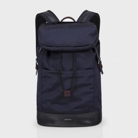 Paul Smith Men's Bags - Navy Grosgrain Backpack