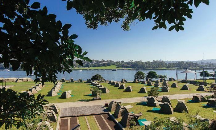 Camping sites | Cockatoo Island, Sydney