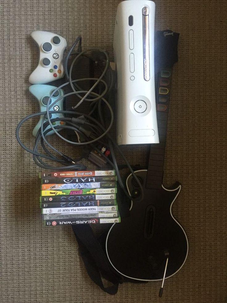Microsoft Xbox 360 Pro 20 GB Matte White Console (PAL)