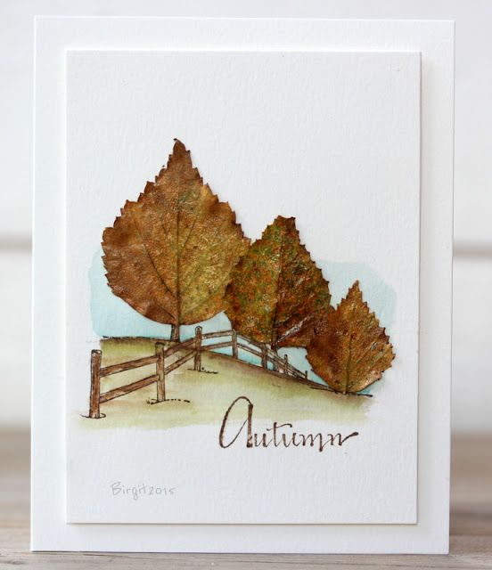 autumn card by Birigt