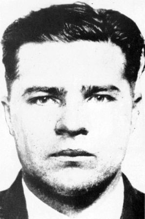 """Charles Arthur """"Pretty Boy"""" Floyd, shot and killed by FBI agents a year after the Kansas City Massacre; the Bureau insisted that he was one ..."""