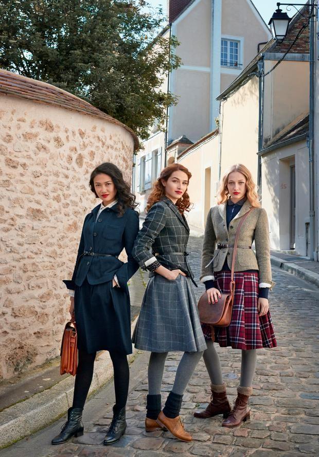 Pariser Vintage-Chic: UNIQLO x Inès de la Fressange
