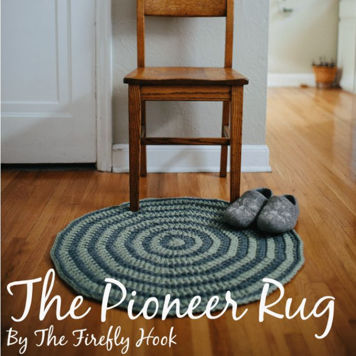The Pioneer Rug is a guest post written by Abbey from The Firefly Hook. You can find her on Facebook, Instagram and Pinterest. The Pioneer Rug My kids and I recently listened to all the Little House on the Prairie books. I love connecting to that time in history when people lived off the land and depended on each otherClick for more