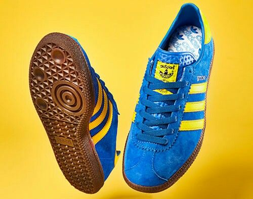 One of the most popular adidas Original colourways - Stockholms