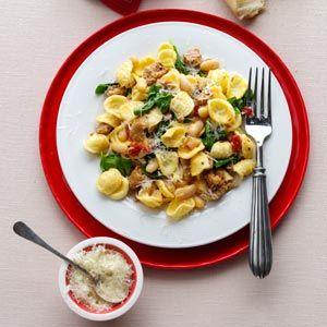 Turkey and tomato pasta recipe