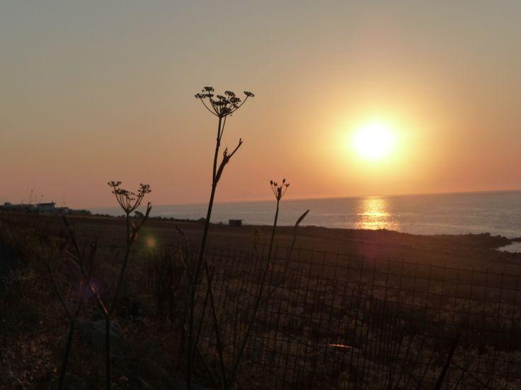 #sunset #crete #greece