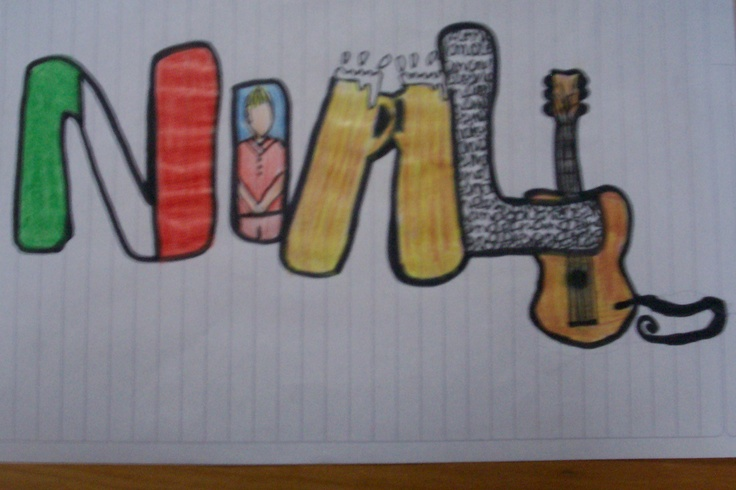 Yeah; it's Niall from 1D. By Marty Julia.