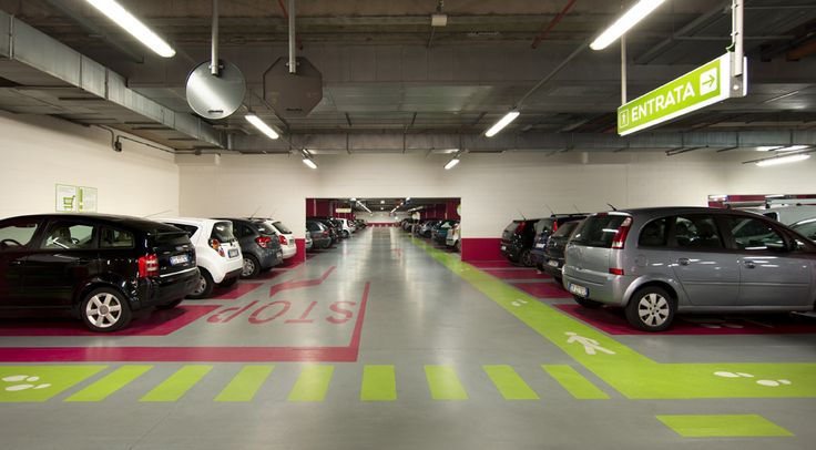 https://flic.kr/p/obUTzA | Centro Sarca - restyling parcheggi e lobby di ingresso