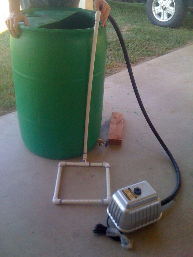 Video: Our 55-Gallon Compost Tea Brewer