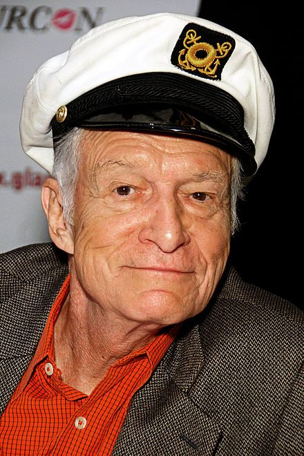 Hugh Marston Hefner (April 9, 1926 – September 27, 2017) was an American magazine publisher, editor, businessman, and playboy. He was best known as the editor-in-chief and publisher of Playboy magazine, which he founded in 1953. He died September 28 2017 from natural causes at the age of 91.