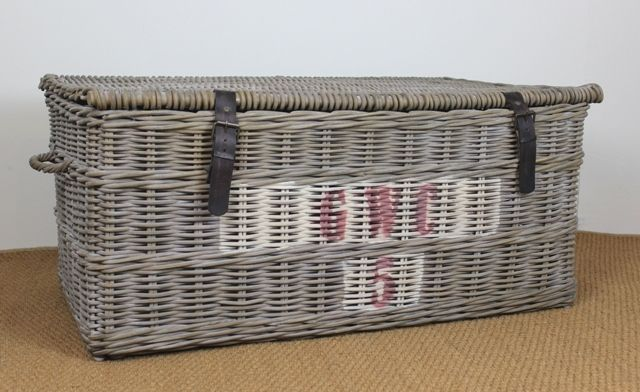 Our new French Vineyard Collection has been designed with a vintage look and can be used as a trunk or coffee table. More styles to choose from #rattan #frenchinspired