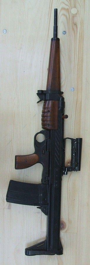 Vintage EM-2 modular rifle system (Britain) - http://www.RGrips.com