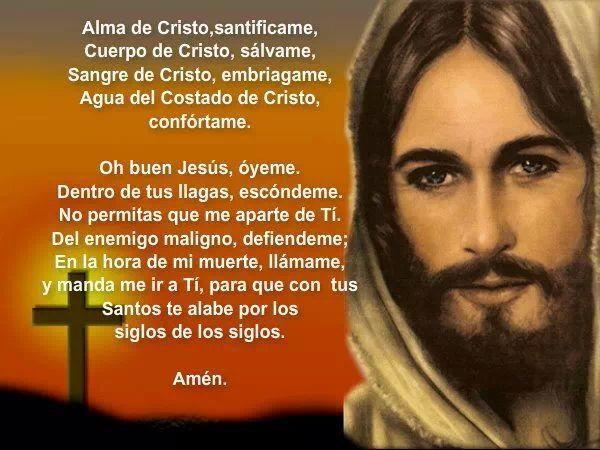 Frases Guerreiros De Cristo: ORACION DE LA SANGRE DE CRISTO