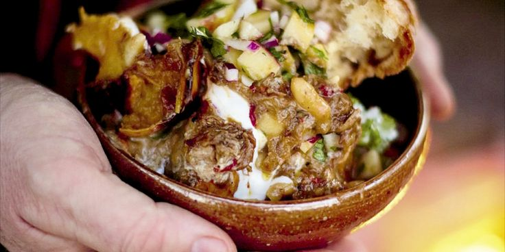 When the weather's closing in, it's really great to tuck into a full-flavored hearty dish, and for celebrity chef Jamie Oliver, a proper rustic chili rocks. The meat will fall apart and melt in your mouth. It's spicy, and, with a clever contrasting salsa, a total joy.