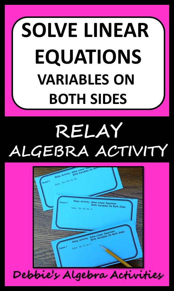 406.0+ best Algebra images on Pinterest | Algebra activities ...