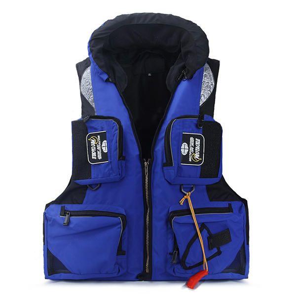 Mens Sea Fishing Clothes Floating Objects Life Jacket Vest at Banggood