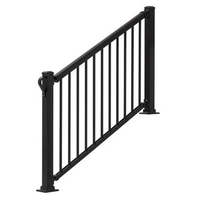 Best Gilpin Inc 3 Ft H X 6 Ft W Summit Straight Railing In 400 x 300