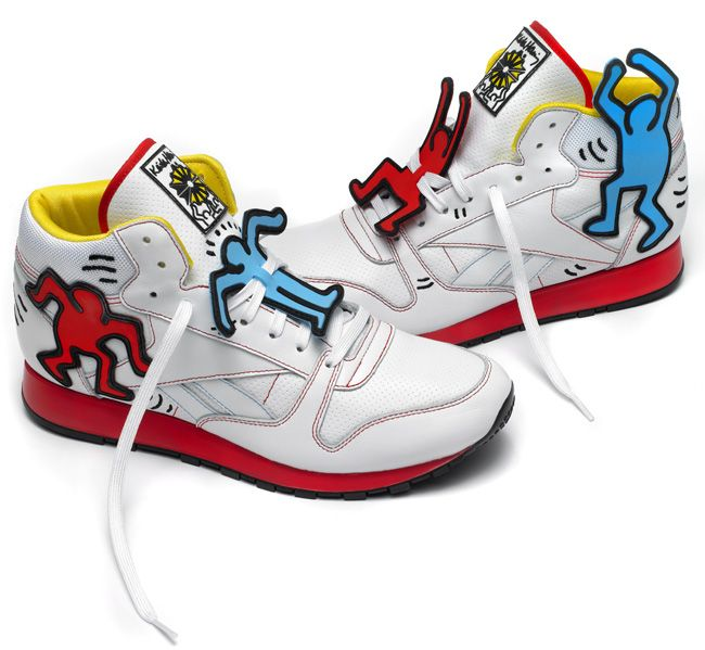 Reebok x Keith Haring Part II: Classic Leather Mid Lux, Freestyle Hi &  Workout