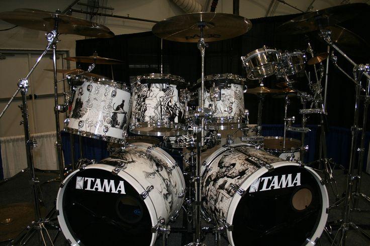 John Dolmayan's Drum Kit @ Super-Con 2007