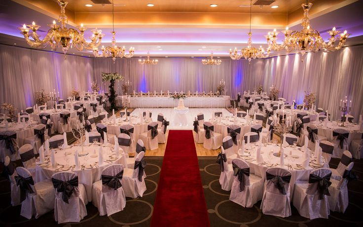 Loughrea Hotel and Spa Weddings with draping