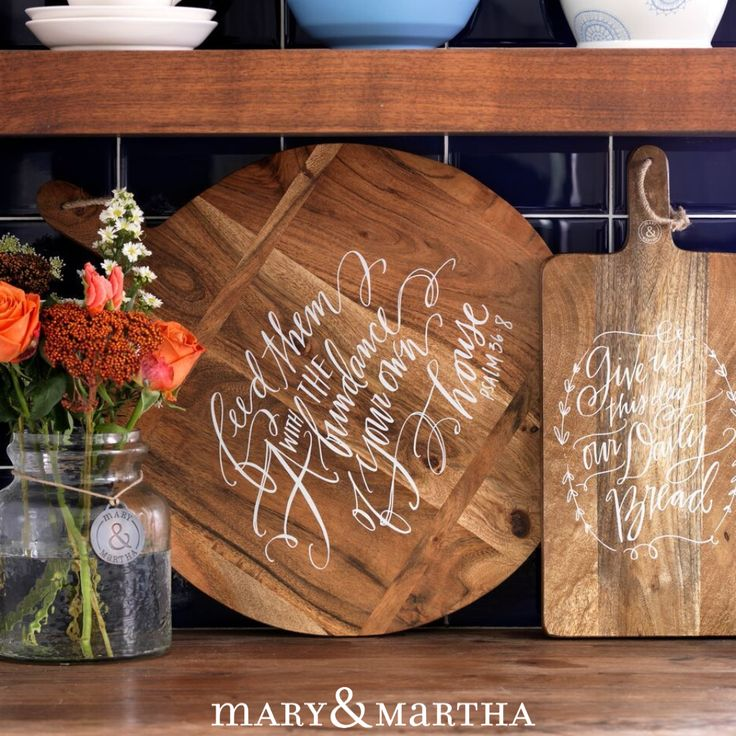 Style Your Home With A Message That Speaks! Host A