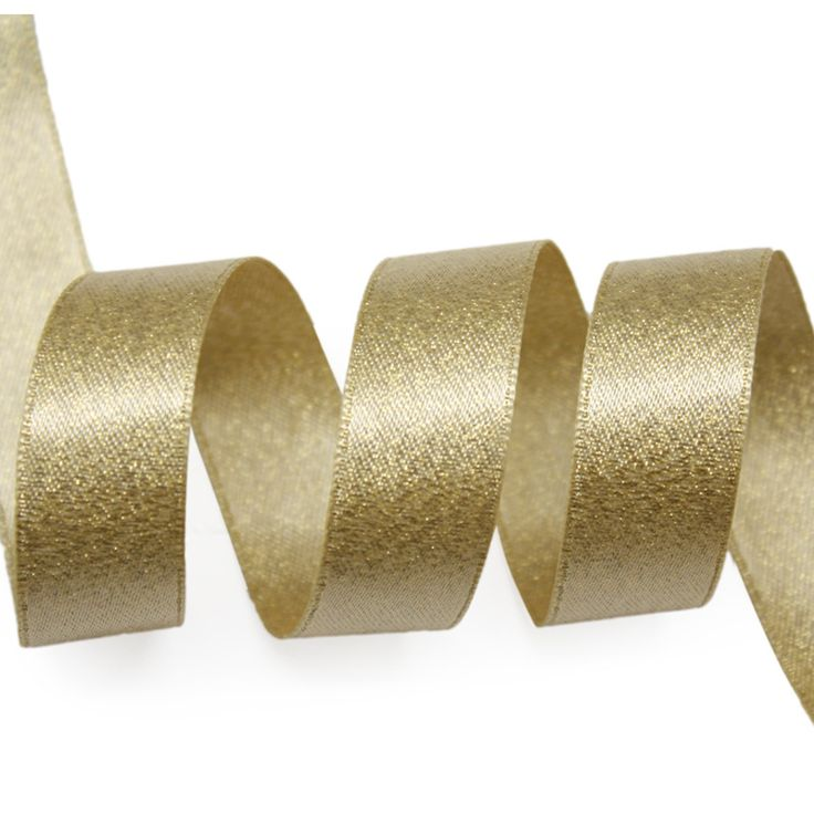 Ribbon Wholesale Sedan Gold Weft Ribbon and Polyester Fabric Handmade Accessories Clothing