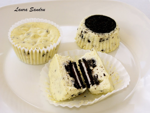 Oreo cheesecake cupcakes. I easily made 18 from the recipe as given.