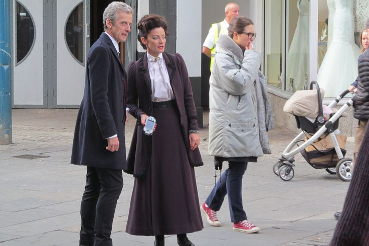 Doctor Who films in Cardiff city centre as the Cybermen take over and Osgood wears Converse!