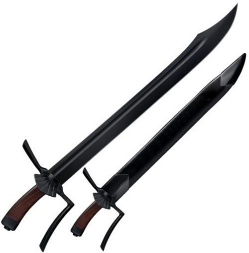 Man at Arms Messer Swords for sale are 28 inches in all. These swords are inspired by historical medieval swords that featured a single hand handle.