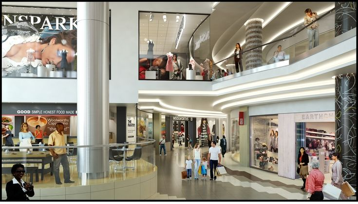 Rosebank Mall Redevelopment Interior  More info: http://blog.galetti.co.za/2013/03/rosebank-mall-redevelopment-ongoing/