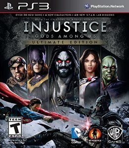 Injustice: Gods Among Us (Ultimate Edition) - #SonyPlaystation3 - A unique addition to the fighting genre in which an intriguing storyline pits the heroes -- and villains -- of the DC universe against each other A powerful and diverse array of over 20 playable characters, including Superman, Batman, Wonder Woman, The Flash, Nightwing, Catwoman, Cyborg, Harley Quinn, Solomon Grundy, and others