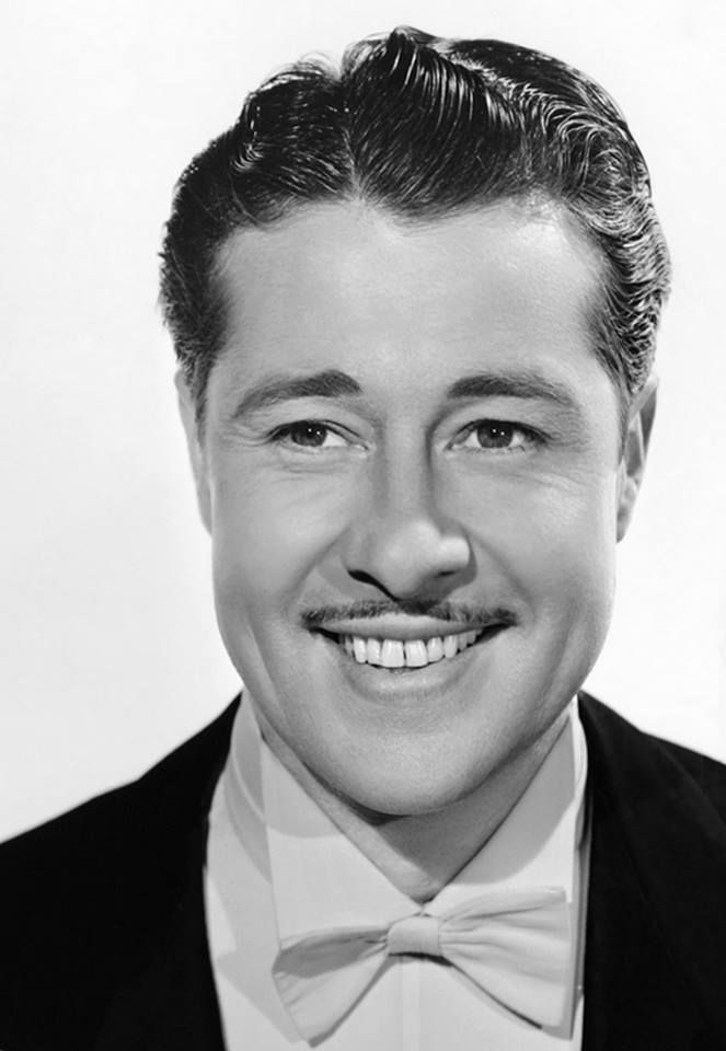 Don Ameche born May 31, 1908  Died December 6, 1993 aged 85 RIP  Photo: For Girl Trouble (1942)