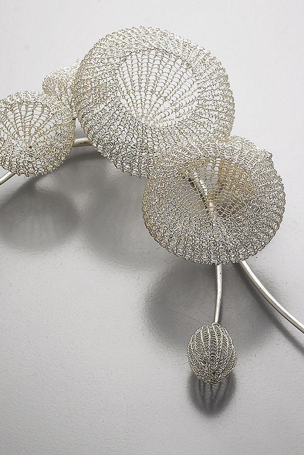 Brooch, conceptual jewelry made by Sowon Joo (Korea).