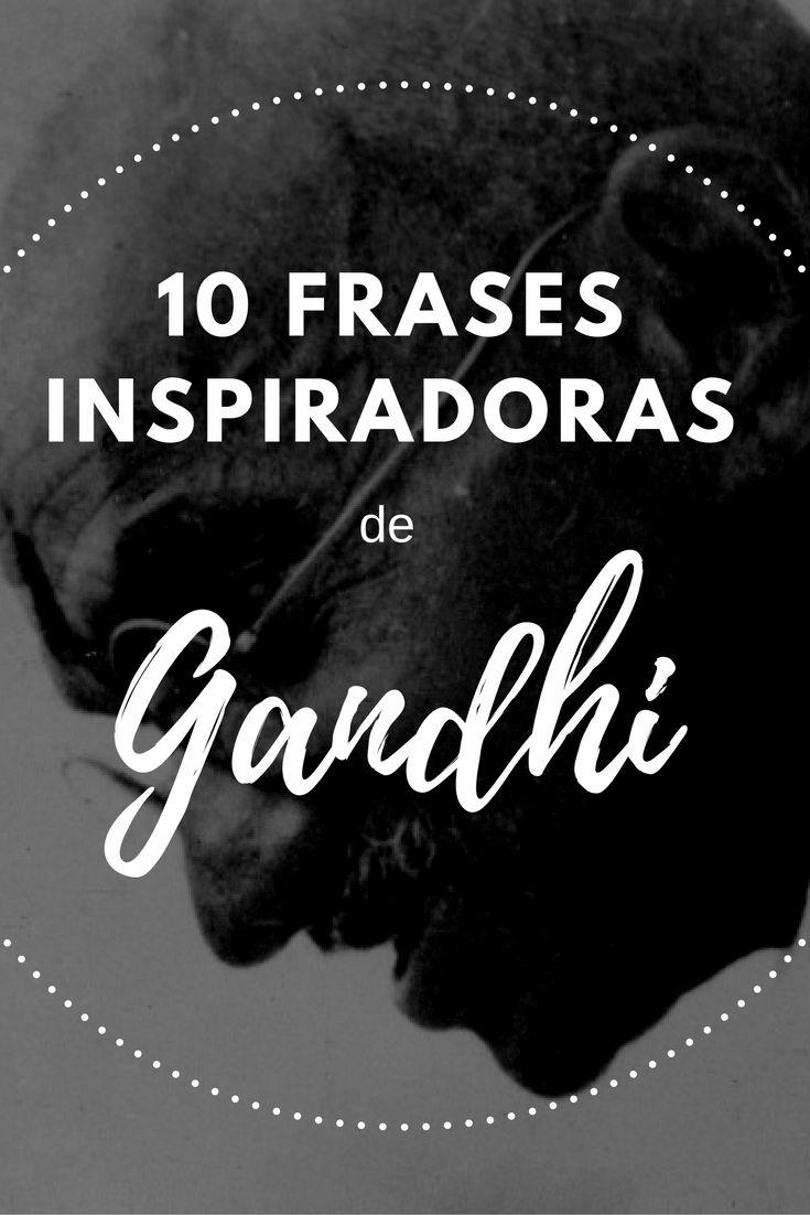 As mais profundas frases e mensagens de Gandhi sobre amor, paz e reflexão.